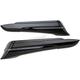 Black Saddlebag Extensions - 40103