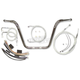 Sterling Chromite II Caliber Handlebar Installation Kit W/ 12 in. Ape Hanger Bars - 38825-112