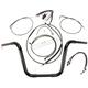 Black Pearl Caliber Handlebar Installation Kit for 12 in. Ape Hanger Bars - 48817-112