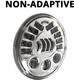 12V Chrome 7 in. Model 8790 NON-Adaptive LED Headlight - 0553431