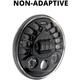 Black Model 8790 7 in. LED Headlight - 0553421