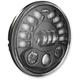 Black Model 8791 7 in. Pedestal Mount LED Headlight - 0553441