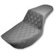 Lattice-Stitch Step-Up Seat - 882-09-172