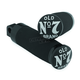 Black Old No. 7 Billet Footpegs - 106-270
