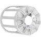 Chrome 10-Gauge Oil Filter Cover - 03-483