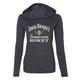 Women's Black Honey T-Shirt Hoody