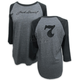 Women's Gray #7 Raglan Shirt