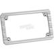 Chrome 10-Gauge License Plate Frame - 12-135