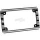 Black 10-Gauge License Plate Frame - 12-136