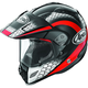 Black/Red/White Multi-Colored XD4 Mesh Helmet