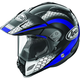 Black/Blue/White Multi-Colored XD4 Mesh Helmet