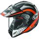 Black/Orange/White Multi-Colored XD4 Mesh Helmet