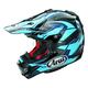 Blue/Black/Navy VX-4 Pro 4 Dazzle Helmet