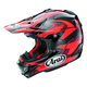 Red/Black/Dark Red VX-4 Pro 4 Dazzle Helmet
