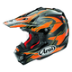 Orange/Black/Yellow VX-Pro 4 Dazzle Helmet