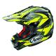 Black/Neon Green/Gray VX-4 Pro 4 Dazzle Helmet