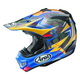 Blue/Yellow/Black Multi-Colored VX-Pro 4 Tickle Trophy Girl Helmet