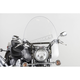 22 in. SS-30 Classic Windshield w/Chrome Quick Release Hardware - SS-30-22CTQ