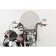 22 in. Smoke SS-30 Classic Windshield w/Chrome Quick Release Hardware - SS-30-22TTQ