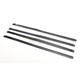Black 14 in. Ladder Style Fat-Width Stainless Steel Tie Wraps - CPP/9179