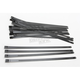 Black 14 in. Ladder Style Fat-Width Stainless Steel Tie Wraps - CPP/9179-20
