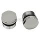 Chrome 39mm Domed Fork Caps - 0404-0305