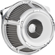 Chrome Inverted Series Slot Track Air Cleaner - 18-914