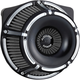 Black Inverted Series Slot Track Air Cleaner - 18-915