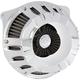Chrome Inverted Series Deep Cut Air Cleaner - 18-916