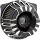 Black Inverted Series Deep Cut Air Cleaner - 18-917