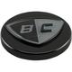 Black Low Profile Gas Cap w/BC Logo - BC406-009-B