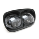 Black Dual LED Headlamp Unit - 33-1101