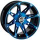 Front Blue 387X 14 x 7 Wheel - 0230-0867