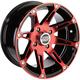Rear Red 387X Rear 14 x 8 Wheel - 0230-0870