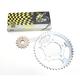 525ZRT Z-Ring Chain and Sprocket Kit - 7ZRT/114KSU034