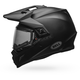Matte Black MX-9 Adventure Snow Helmet w/Electric Shield