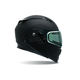 Matte Black Revolver EVO Snow Helmet w/Electric Shield