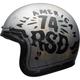 Silver/Black Custom 500 SE RSD 74 Helmet