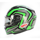 Green/Titanium/Black Qualifier Machine Snow Helmet w/Electric Shield