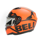 Matte Orange/Black Qualifier Momentum Snow Helmet w/Electric Shield