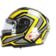Yellow/Titanium/Black Qualifier Machine Snow Helmet w/Electric Shield