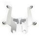 Silver No-Tool Trigger-Lock Plate Kit for Sportshield Windshields - MEK1720