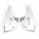 Silver Fats/Slims No-Tool Trigger-Lock Windshield Plate Kit - MEK1721