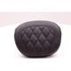 Black Diamond-Stitch Sissy Bar Pad - 76768