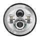 Chrome 7 in. LED Headlight - HW195001