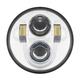 Chrome 5.75 in. LED Headlight - HW195003