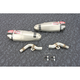 Stainless/Stainless/Carbon Fiber RS-9T Signature Series Dual Slip-On Mufflers - 225832R520