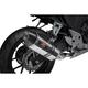 R-77 Signature Series Stainless/Carbon Fiber Slip-On Muffler - 1256100E0520