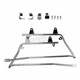 Chrome Saddlebag Conversion Brackets - HW157113