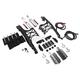 Chrome One Touch Saddlebag Mounting Hardware/Latch/Lock Kit - HW131372-CR